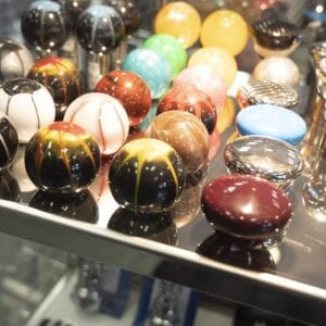 photo of big rig truck custom knobs