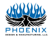 phoenix design & manufacturing, llc logo