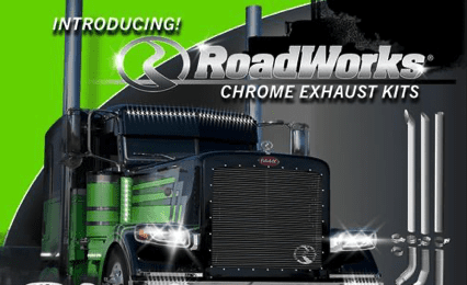roadworks chrome exhaust kits digital ad